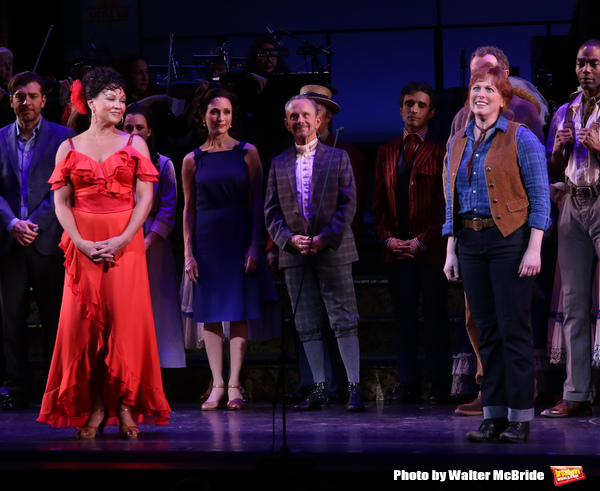 Vanessa Williams and Carolee Carmello with cast