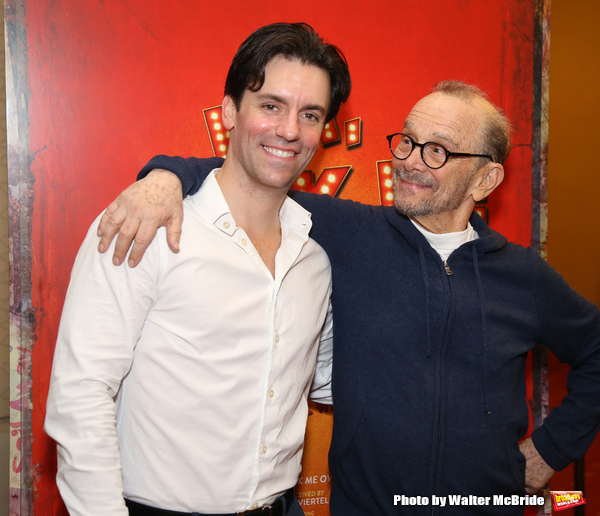 Clyde Alves and Joel Grey