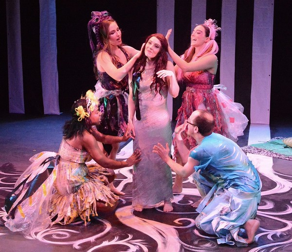 Photo Flash: First Look at MIDSUMMER NIGHT'S DREAM at Sheen Center