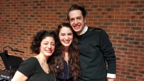 Dana Tretta (Gilda Radner), Anna Segatti (U/s Gilda Radner), Jackson Evans (Alan Zweibel)