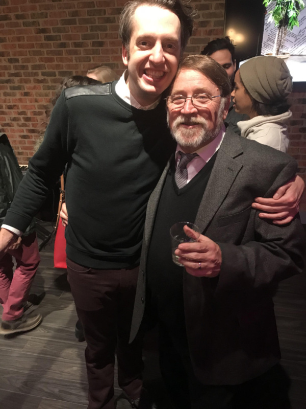 Jackson Evans (Alan Zweibel) and Warner Crocker (Director)