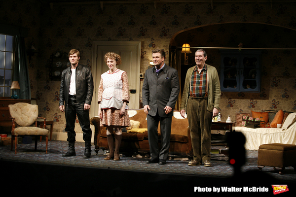 Curtain Call for The Opening Night Performance of The Roundabout Theatre Company's Pr Photo