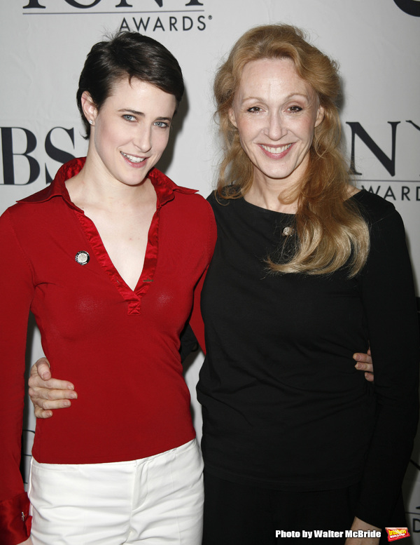 Xanthe Elbrick & Jan Maxwell attending the 2007 Tony Awards Meet the Nominees Press Reception at the Mariott Marquis Hotel in New York City. May 16, 2007