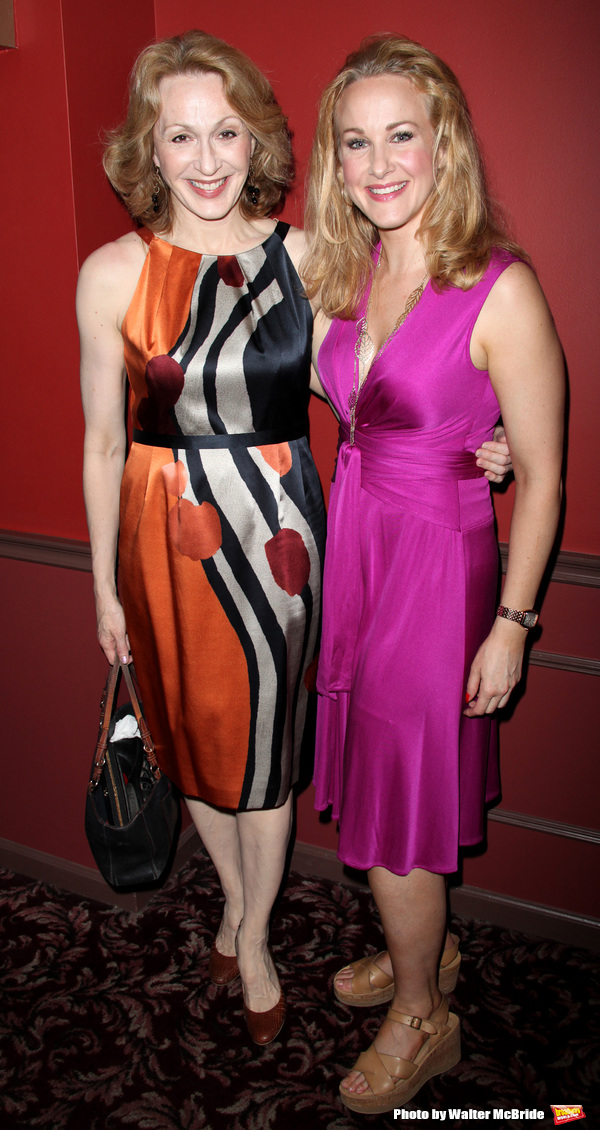 Jan Maxwell & Katie Finneran attending The 60th Annual Outer Critic Circle Theatre Awards at Sardi's Restaurant, New York City. May 27, 2010