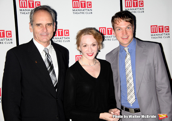 Anthony Newfield, Jan Maxwell, John Wernke attending Planet Hollywood Opening Night A Photo