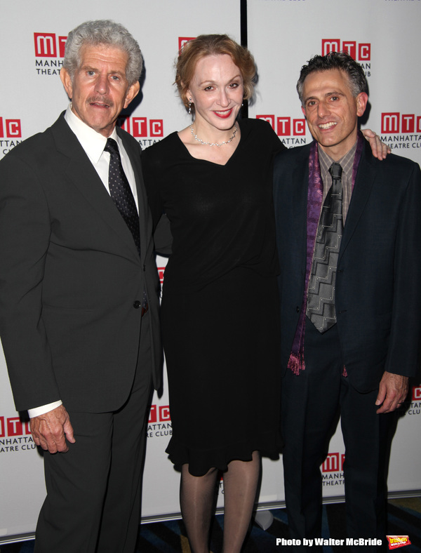"""Tony Roberts, Jan Maxwell, David Greenspan attending Planet Hollywood Opening Night After Party for the Manhattan Theatre Club's Production of """"The Royal Family""""  in New York City. October 8, 2009"""