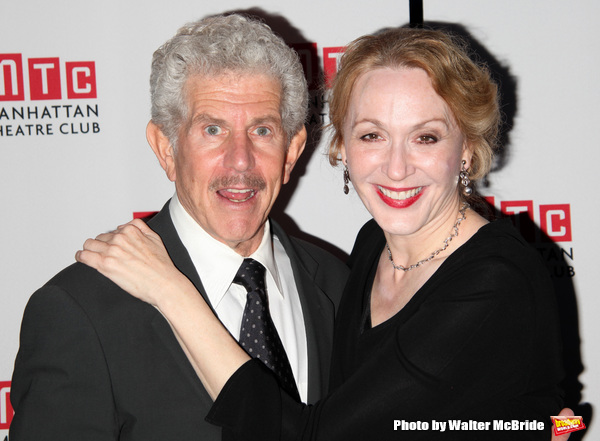 """Tony Roberts, Jan Maxwell attending Planet Hollywood Opening Night After Party for the Manhattan Theatre Club's Production of """"The Royal Family""""  in New York City. October 8, 2009"""