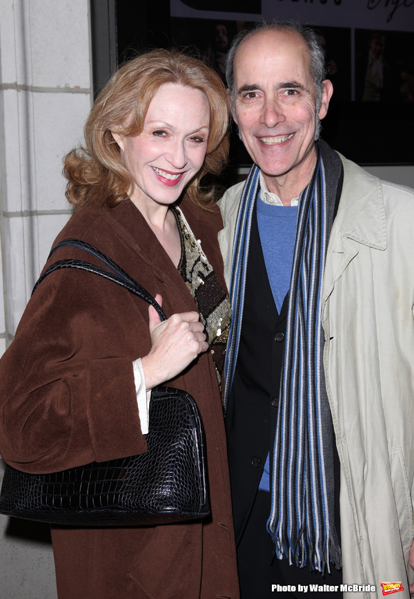 Jan Maxwell & Robert Emmett Lunney attending the Opening Night Performance of the Man Photo