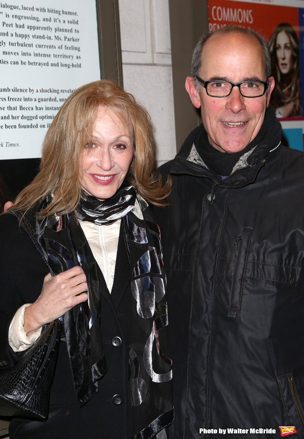 Jan Maxwell and Robert Emmet Lunney attends the 'Outside Mullinger' Broadway opening  Photo