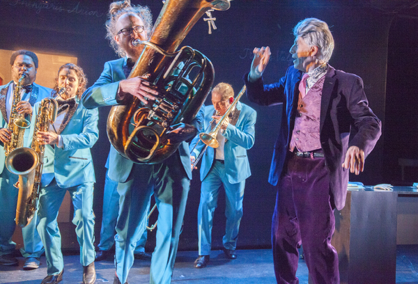 Photo Flash: Talking Band presents the World Premiere of FUSIFORM GYRUS - A SEPTET FOR TWO SCIENTISTS AND FIVE HORNS