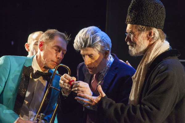 Peter Zummo (trombone), Paul Zimet (as Dr. Fred Decker), Tom Nelis (as Aiden Grey) Photo