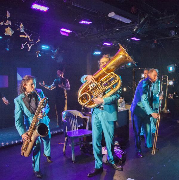 Jessica Lurie (baritone sax), Tom Nelis (as Aiden Grey), Sam Kulik (tuba), Peter Zummo (trombone), Lathan Hardy (alto sax)