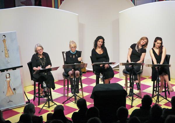 (L to R) Amy Roche, Lynne McGhee, Jeanne Handy, Casey Turner, Hannah Daly.