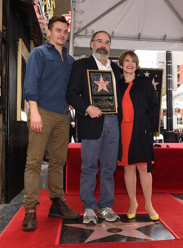Rupert Friend, Mandy Patinkin, and Patti LuPone