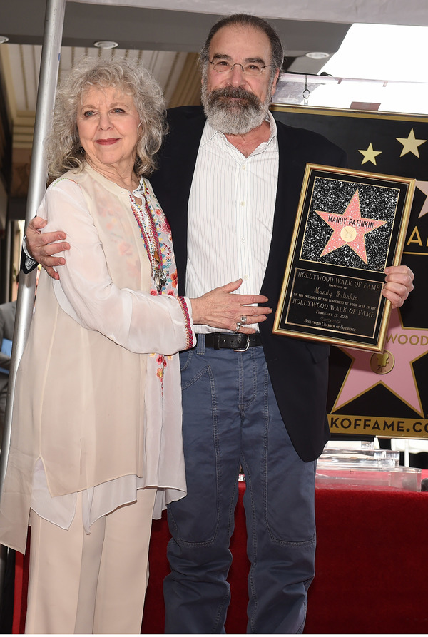 Photo Flash: Mandy Pantinkin Receives A Star on the Hollywood Walk of Fame!