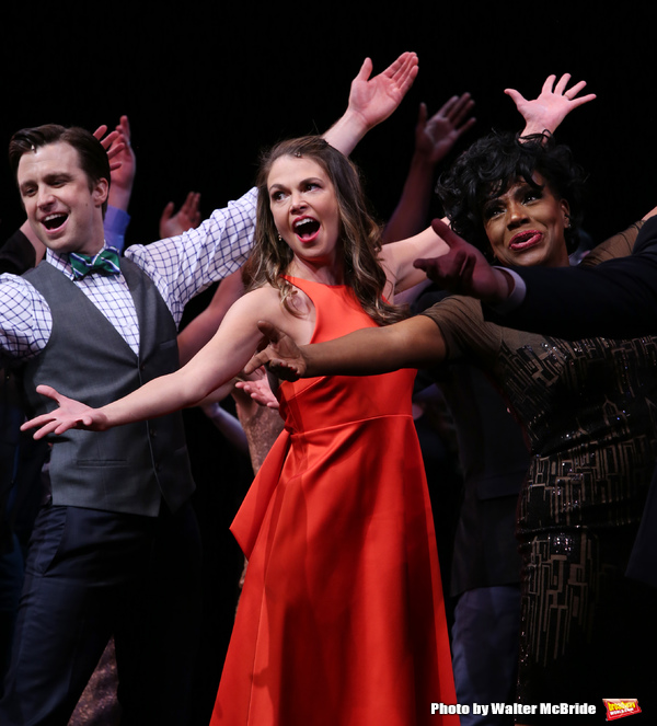 Cavin Creel, Sutton Foster and Sheryl Lee Ralph