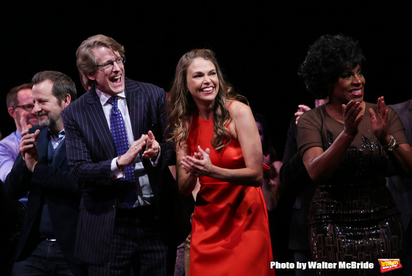 Rob Ashford, Dick Scanlan, Sutton Foster, Sheryl Lee Ralph