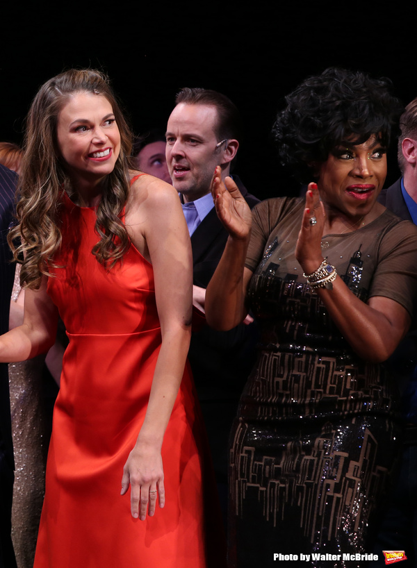 Sutton Foster, Noah Racey and Sheryl Lee Ralph