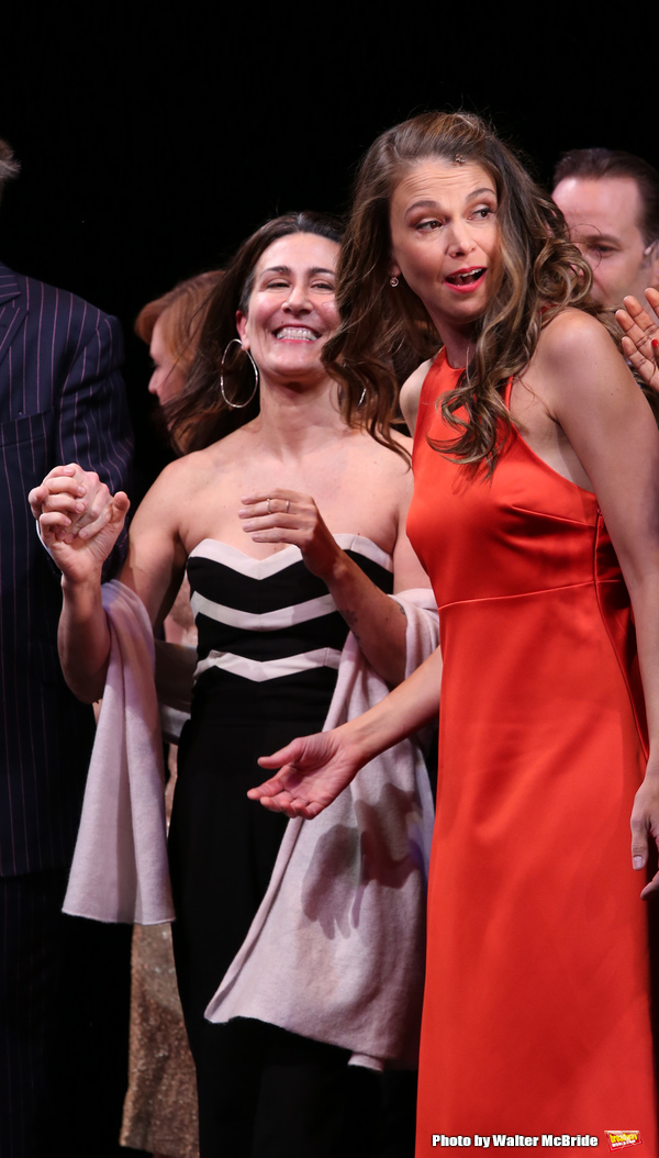 Jeanine Tesori and Sutton Foster