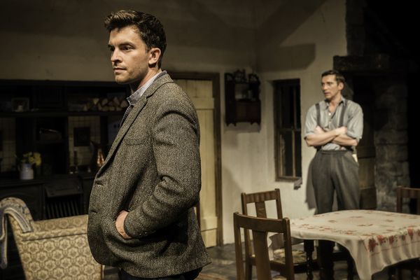 Jonathan Bailey (John) and Ben Batt (George)
