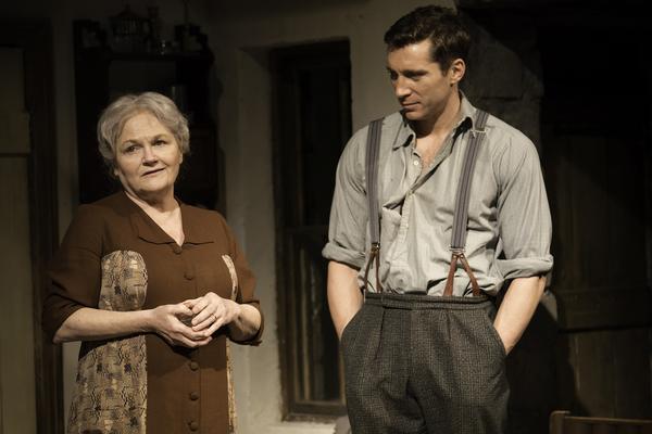Lesley Nicol (Mother) and Ben Batt (George)