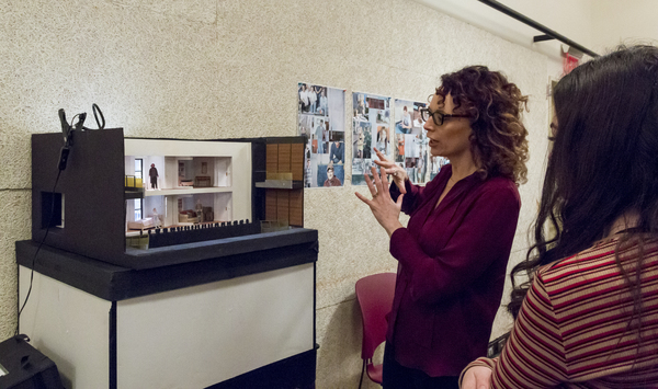 Rebecca Tacihman describes the set design