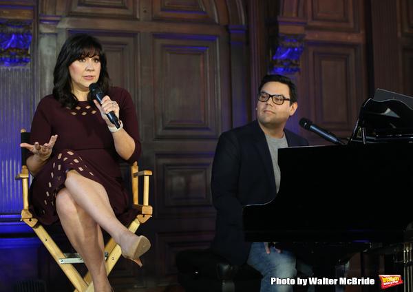 Kristen Anderson-Lopez and Robert Lopez