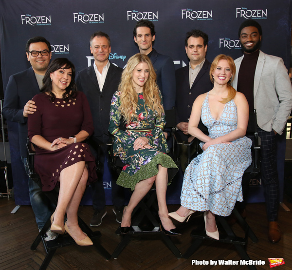 Photo Coverage: FROZEN Storms Its Way to Broadway- Meet the Company!
