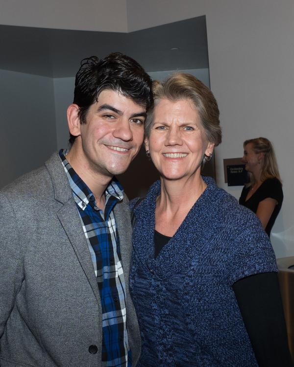 Musical Director David Lamoureux and Julie Lamoureux Photo