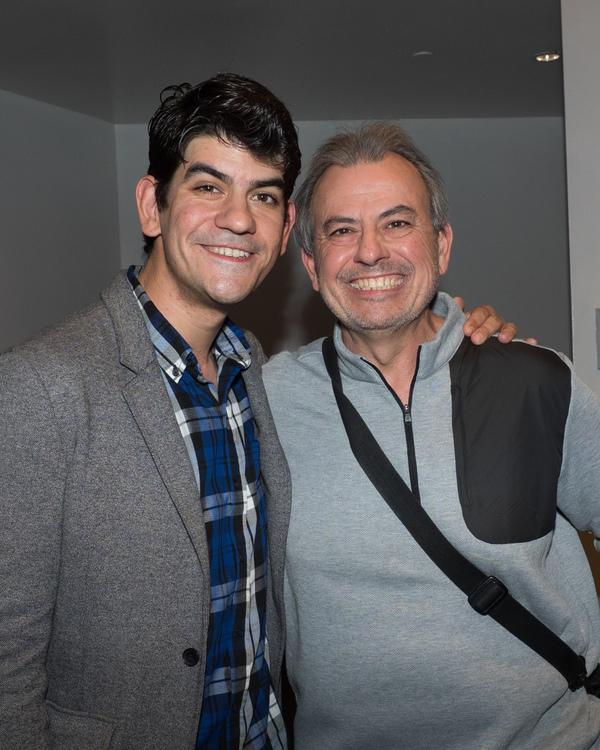 David Lamoureux and Coe Lamoureux Photo