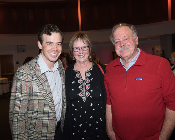 Zachary Ford and his parents