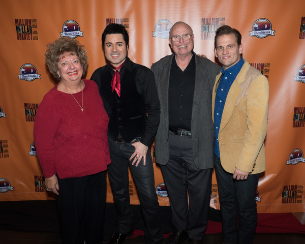 Susan Dawson, Cole, Jim Dawson, and Michael Monroe Goodman Photo