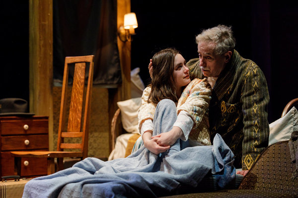 Steve Hendrickson and Anna Lentz  Photo