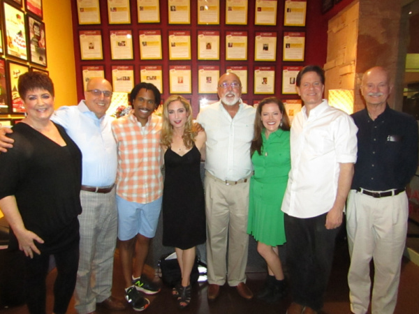 Photo Flash: Barry Harman Flies Cross-Country To Attend CVRep's Production Of ROMANCE/ROMANCE