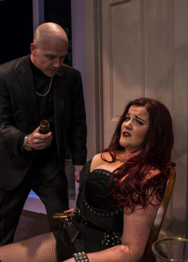 George Coe and Felicia Hall in The Theatre Group at SBCC's production of COMMU Photo