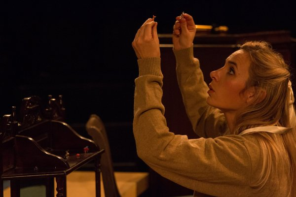 "JESSICA WEAVER (Laura) from the Lakewood Playhouse Production of Tennessee Williams' ""THE GLASS MENAGERIE"""