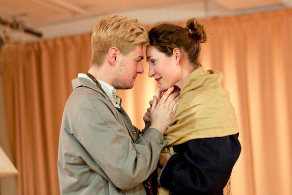 Sam Frenchum (Bruce Lovell) and Helen Bradbury (Cecily Harrington)