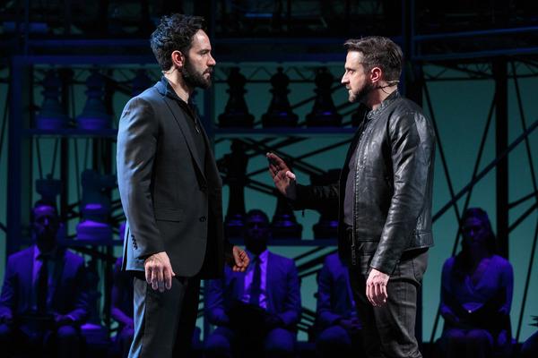 Ramin Karimloo and Raul Esparza