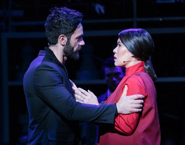 Ramin Karimloo and Ruthie Ann Miles