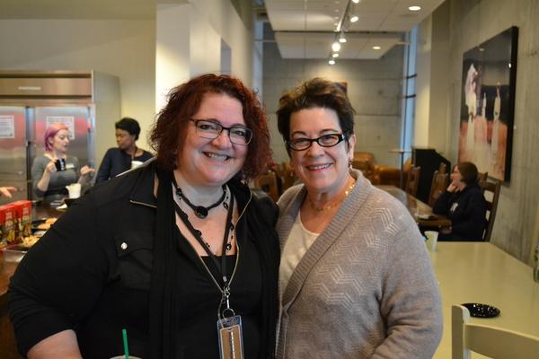 Director Jessica Kubzansky and Artistic Director Molly Smith Photo