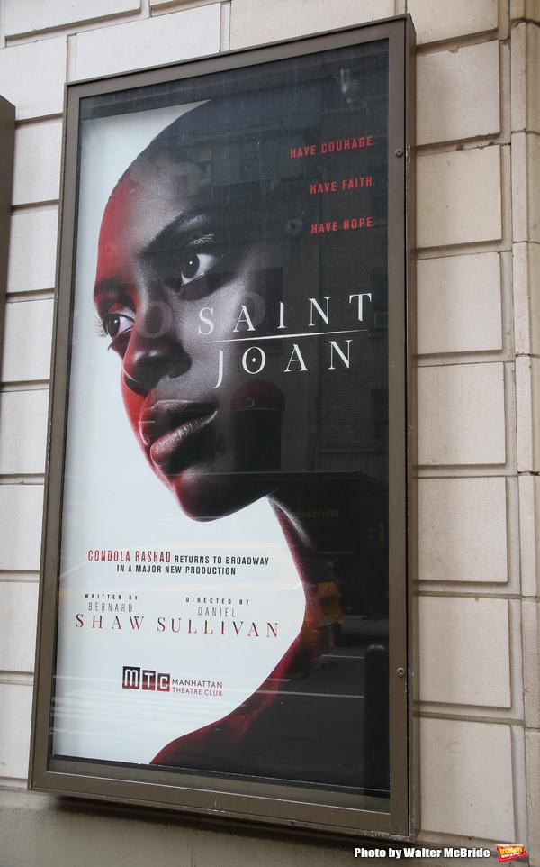 Up on the Marquee: SAINT JOAN starring Condola Rashad