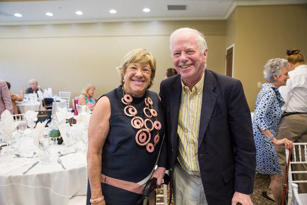 Marsha Laufer and William Brown