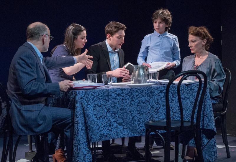 BWW Review:  Peyton Lusk is a Charmer as Jule Styne's BAR MITZVAH BOY