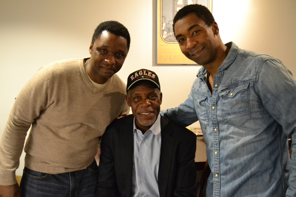 Bowman Wright (Dr. Martin Luther King, Jr.), Actor and Political Activist Danny Glover and JaBen Early (Stokely Carmichael and others)