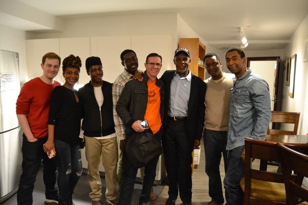 Photo Flash: Danny Glover Visits THE GREAT SOCIETY