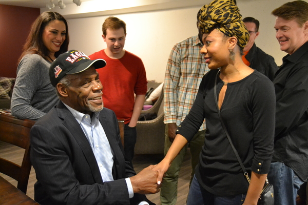 Actor and Political Activist Danny Glover and cast members