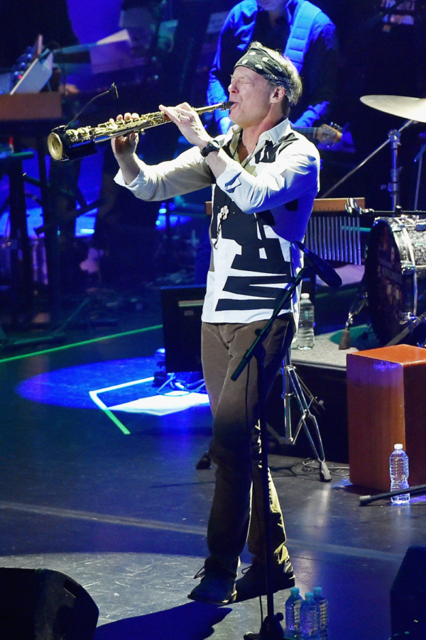 Jazz and fusion saxophonist, Bill Evans, performs with the ManDoki Soulmates at the B Photo