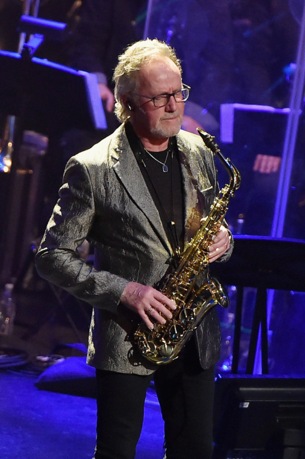 John Helliwell - best known as saxophonist of Supertramp - performs with the ManDoki Soulmates at the Beacon Theatre in NYC (Jan. 29, 2018)