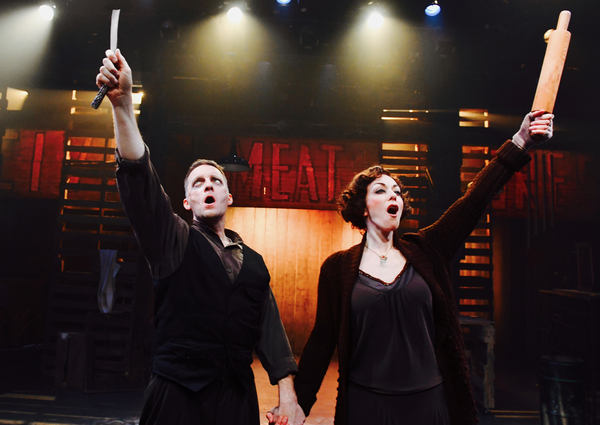 Photo Flash: The Demon Barber Returns in San Jose Stage's SWEENEY TODD