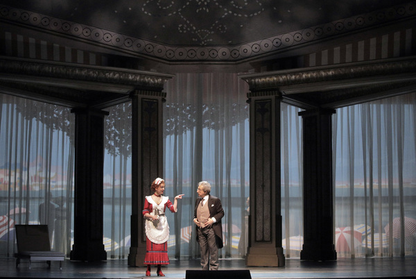 Photo Flash: A Simple Bet Puts Love to the Test at Lyric Opera's COSÌ FAN TUTTE